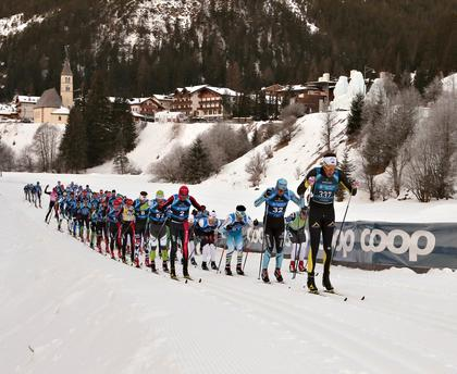 MARCIALONGA OF FIEMME AND FASSA ON 27th JANUARY