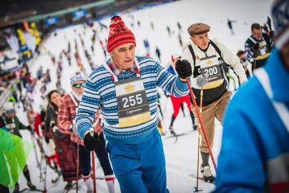 FROM THE PRESENT TO THE PAST TO EXPERIENCE ONCE MORE THE MAGIC OF CROSS-COUNTRY SKIING
